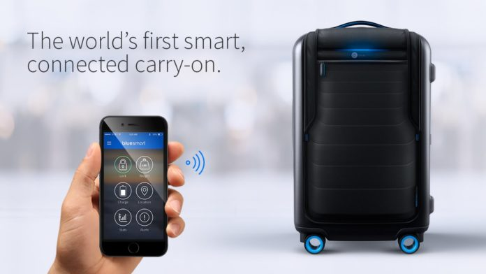 Bluesmart Valija Inteligente, Maleta Carry On
