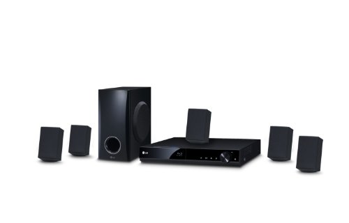LG BH-4030S Home Theater, 5.1 Canales, 330 W, con Blu-ray, 3D, USB, HDMI