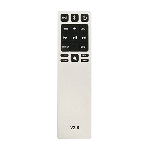 Gvirtue Upgrade Universal Sound Bar Remote Control for Vizio S3820W-C0 S2920W-C0 - For All Vizio Sound Bar Remote Home Theater Sound Bar Remote