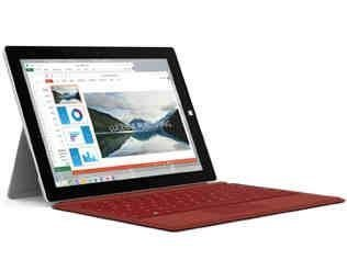 Microsoft Surface 3 128GB 3G 4G Plata - Tablet (1.6 GHz, Intel® Atom™, x7-Z8700, 2 MB, 2.4 GHz, L3)